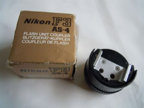 NIKON F3 AS-4 FLASH UNIT COUPLER